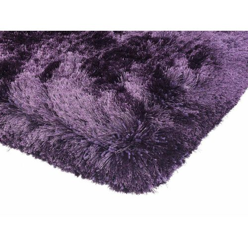 Teppich Shaggy Design PLUSH RUG 160x230cm PURPLE Violett