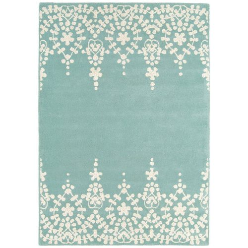 Teppich 100% Wolle Design MATRIX RUG 200x300cm Guild Blue Blau