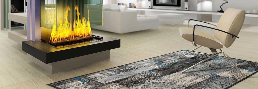 Patchwork-Design Teppiche