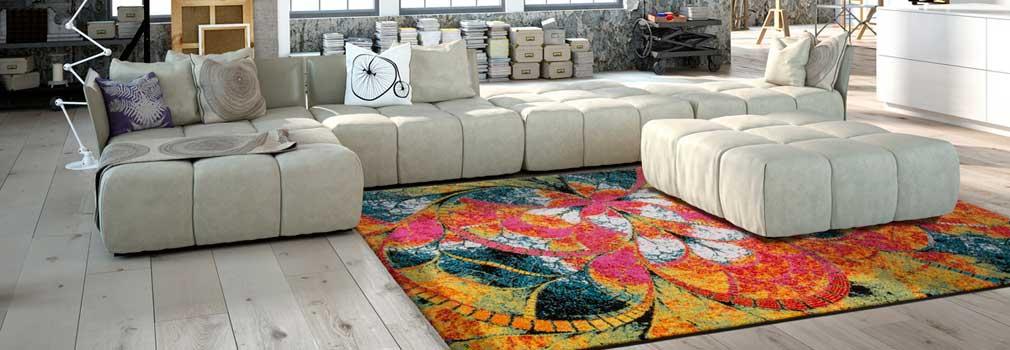 Teppiche mit abstrakten Motiven